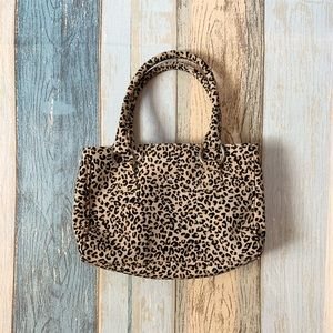 Cute cheetah mini hand bag